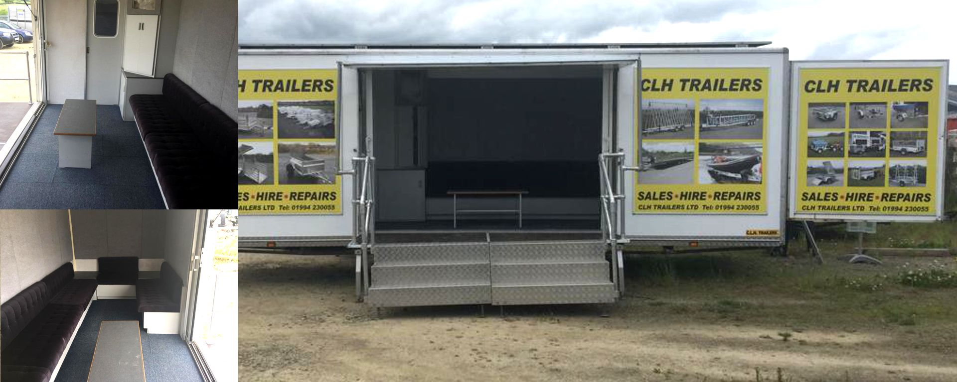 Mobile Event Trailers for Hire in Wales